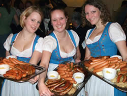 Oktoberfest - German food